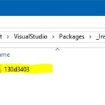 Visual Studio 2017 Install error– 0x80131500 - Failed to Deserialize packages